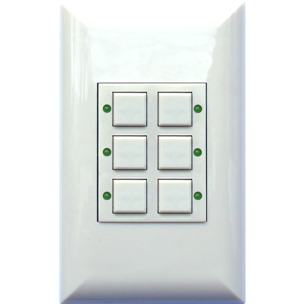 Classic series wall switch touch plate lighting controls touch clas1 0606 wht g aloadofball Gallery