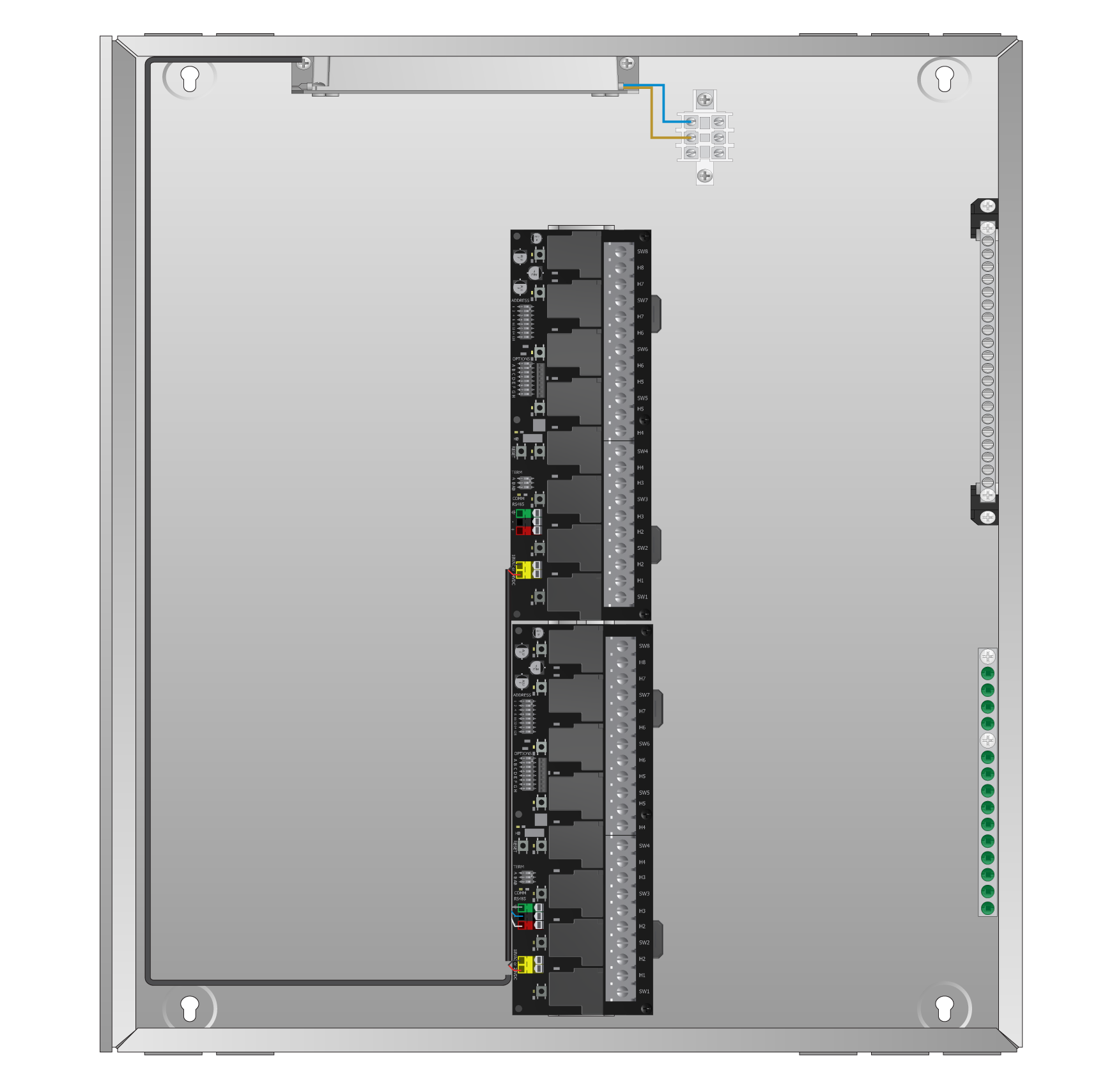 Bacnet Solutions Touch Plate Lighting Controls Ms Tp Wiring Diagram Is A Stand Alone Native Device Designed To Seamlessly Integrate With All Control Systems Configurable Baud Rate Address
