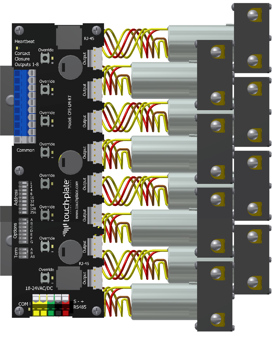 Consensio Bacnet Control Station Touch Plate Lighting Votage Wiring Calypso Legacy