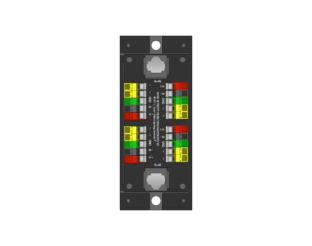 10165 (Wire Management RJ45)